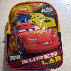 Cars Disney kids backpack lightning McQueen